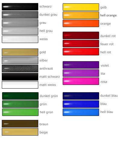 feuer temperatur farbe