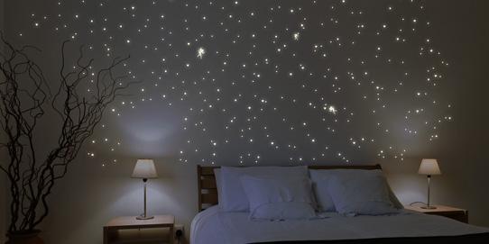 Sternenhimmel Leuchtaufkleber