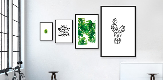 Gerahmte Prints
