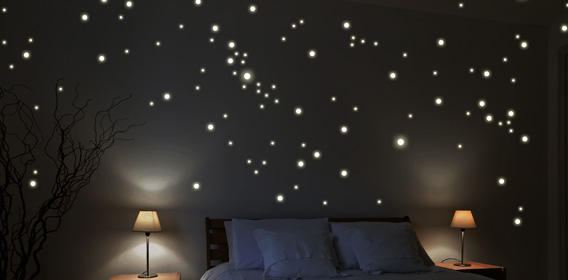 Leuchtaufkleber