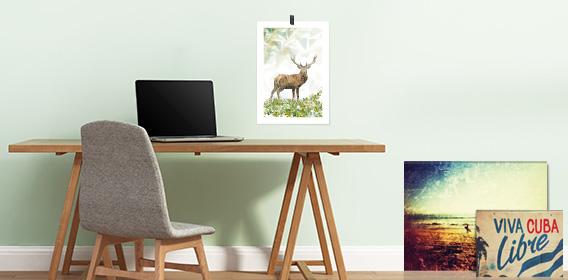 wandbilder kunstdrucke hochwertige leinwandbilder und stylische prints. Black Bedroom Furniture Sets. Home Design Ideas