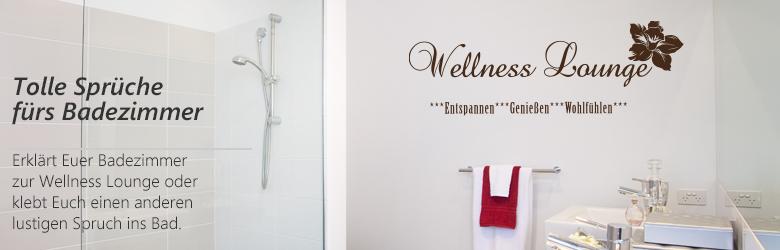 Badezimmer Zitate - Design
