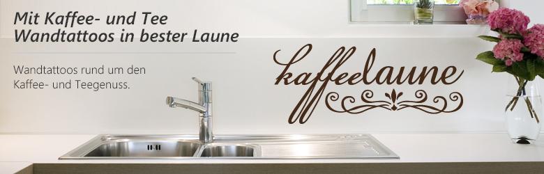 Wandtattoos f r kaffee und teeliebhaber - Fliesensticker kaffee ...