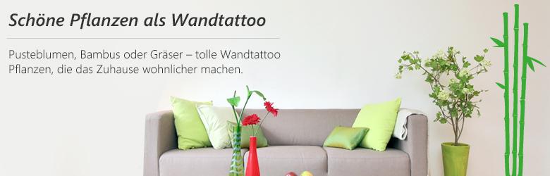diese wandtattoo pflanzen bl hen immer. Black Bedroom Furniture Sets. Home Design Ideas