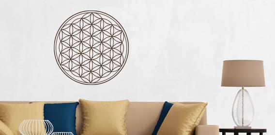 wandtattoo ornamente für euer wohnzimmer