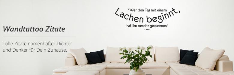 wandtattoo zitate ber die liebe das leben freundschaft und vielen anderen themen. Black Bedroom Furniture Sets. Home Design Ideas