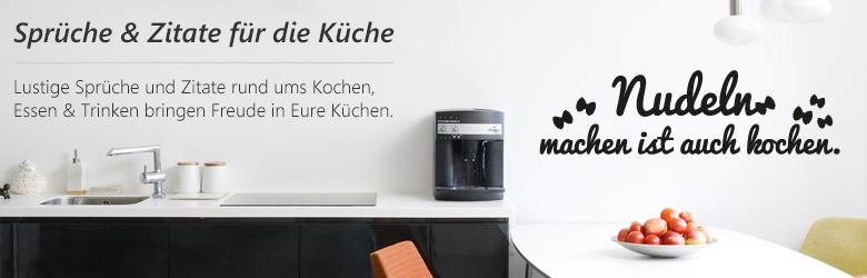 spr che wandtattoos f r die k chen. Black Bedroom Furniture Sets. Home Design Ideas