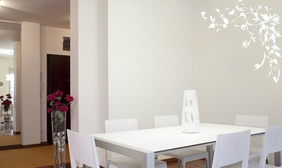 wandkings wandtattoo blume bl te blumenranke luisa gr e farbe w hlbar ebay. Black Bedroom Furniture Sets. Home Design Ideas