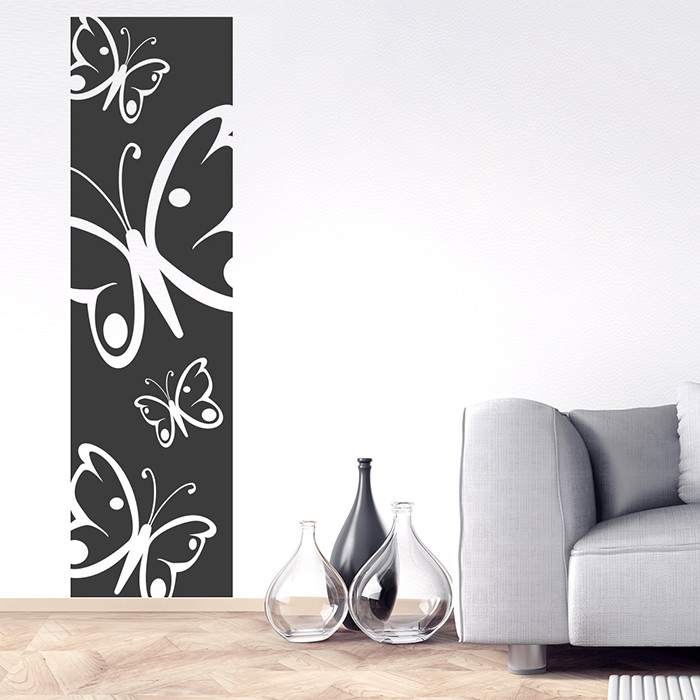 wandtattoo wandbanner schmetterlinge. Black Bedroom Furniture Sets. Home Design Ideas