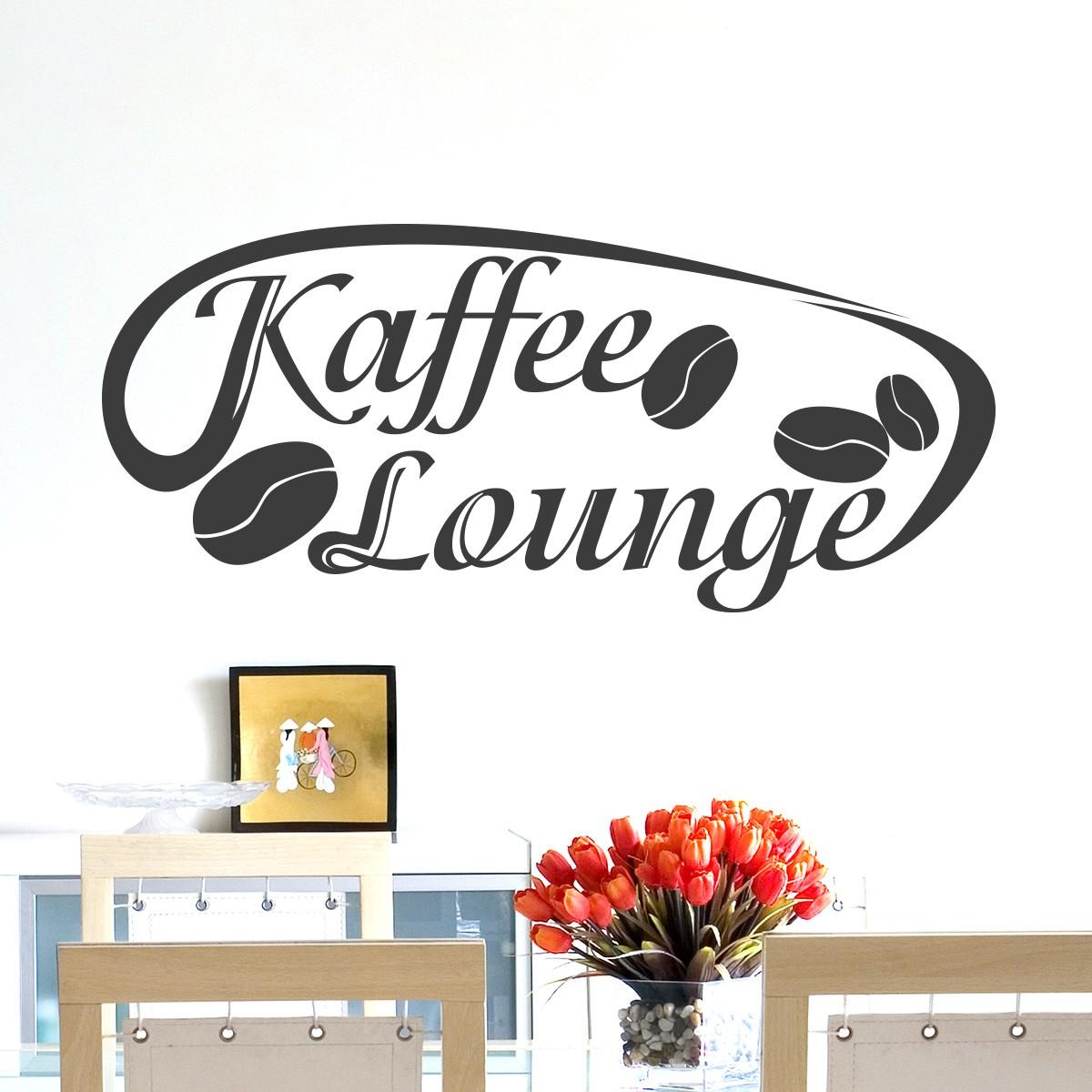 Kaffee lounge wandtattoo wandaufkleber wandsticker aufkleber - Fliesensticker kaffee ...
