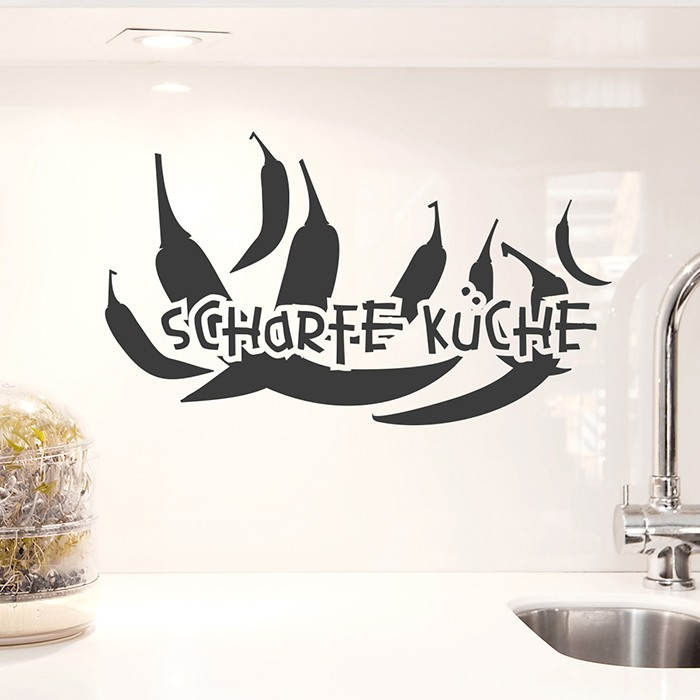 Wandtattoos Für Die Küche - Mit Rezepten U. Kaffee Wandaufkleber
