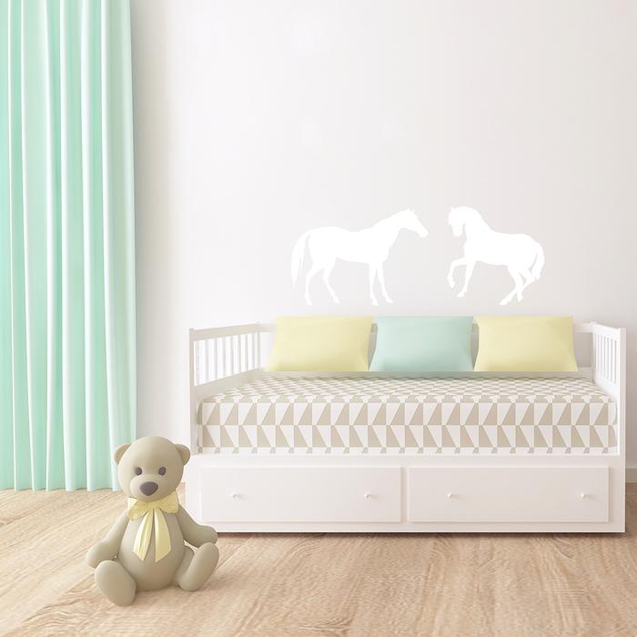 wandtattoo pferde. Black Bedroom Furniture Sets. Home Design Ideas