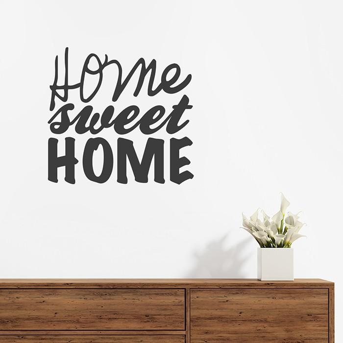 Wandtattoo home sweet home - Wandtattoo home ...