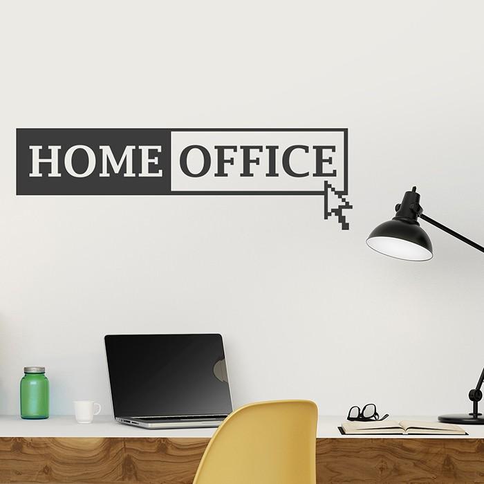 wandtattoo home office. Black Bedroom Furniture Sets. Home Design Ideas