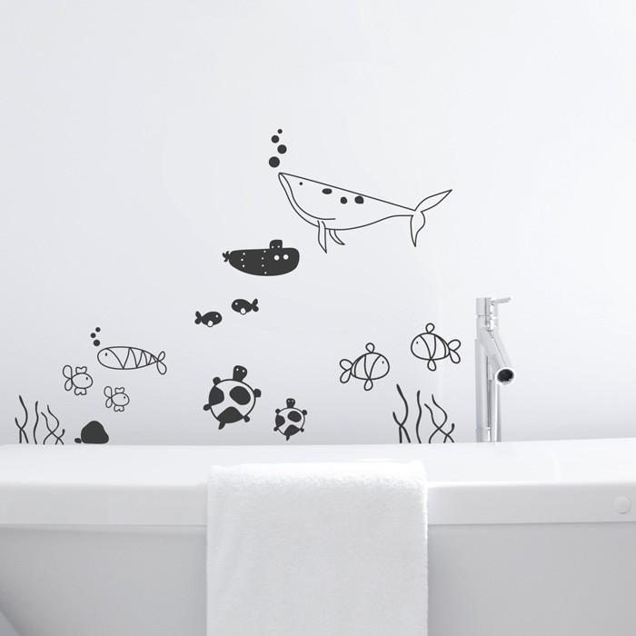 Wandtattoo unterwasserwelt set - Wandtattoo unterwasserwelt ...