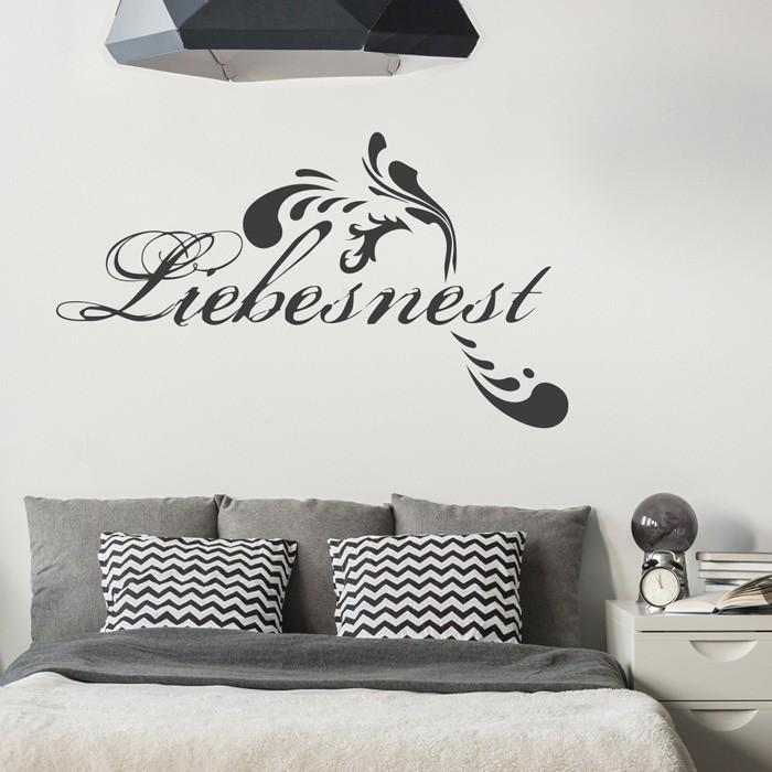 Wandtattoo Spruch Liebesnest