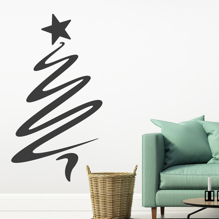wandtattoo weihnachtsbaum. Black Bedroom Furniture Sets. Home Design Ideas
