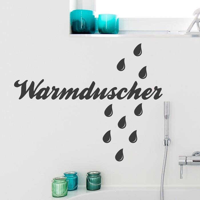 Schöne Sprüche und Worte für Euer Badezimmer.