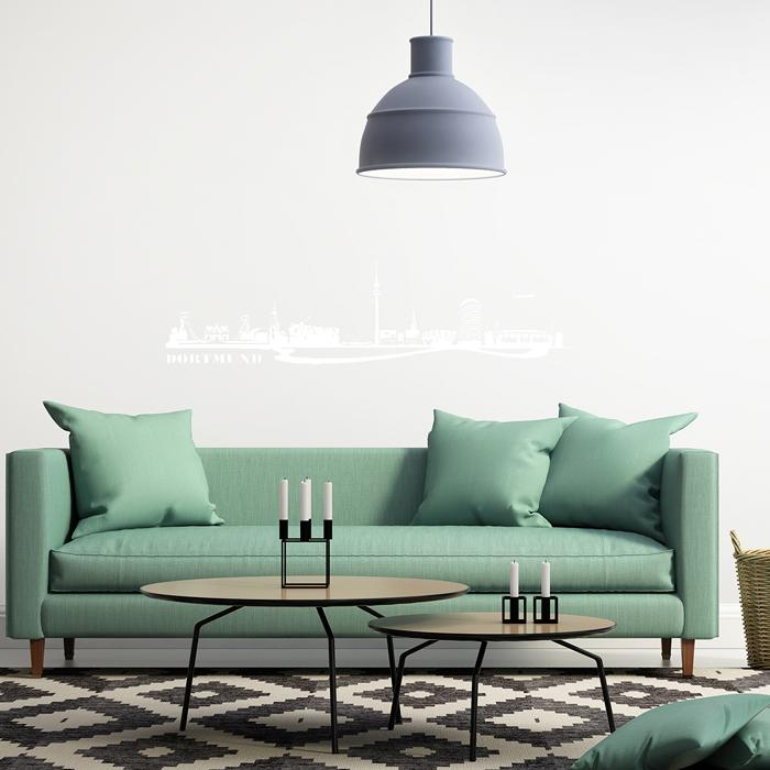 wandtattoo skyline dortmund. Black Bedroom Furniture Sets. Home Design Ideas