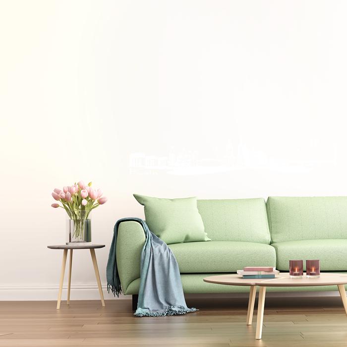 Mono Colors Interior Design: Wandtattoo Skyline Köln