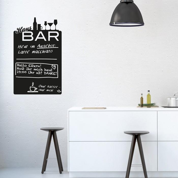 tafelfolie hausbar tafel. Black Bedroom Furniture Sets. Home Design Ideas