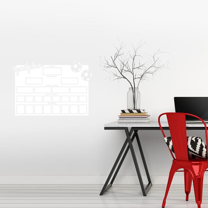 tafelfolie wm spielplan. Black Bedroom Furniture Sets. Home Design Ideas