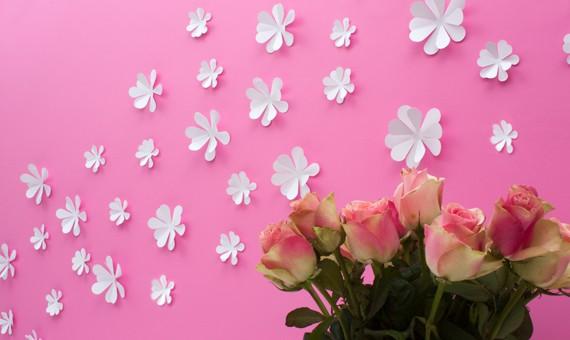 Wandtattoo Blumen Weiß : Home Wandtattoo Wandtattoo 3D  Blumen weiß