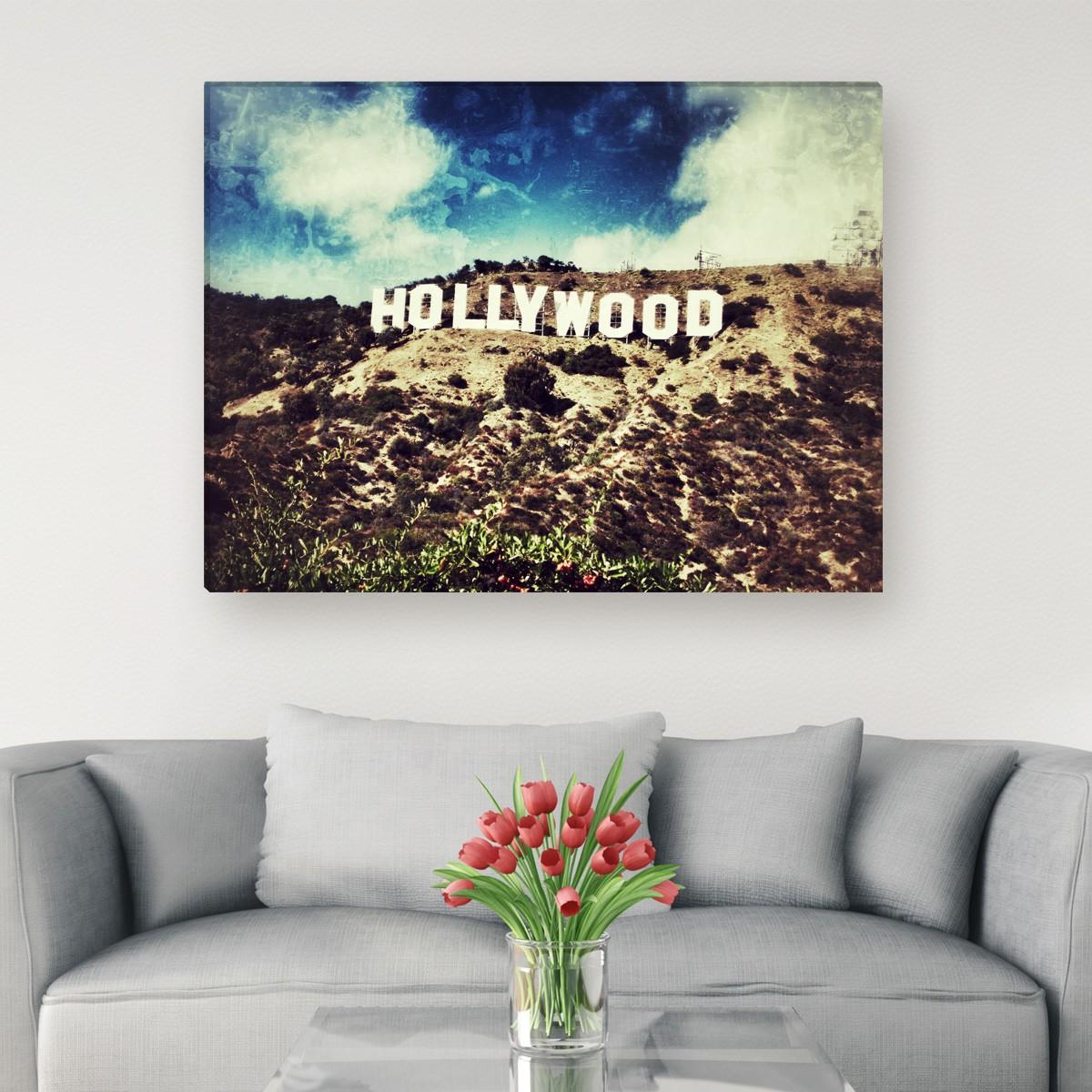Bye bye Hollywood Hills - Leinwandbild