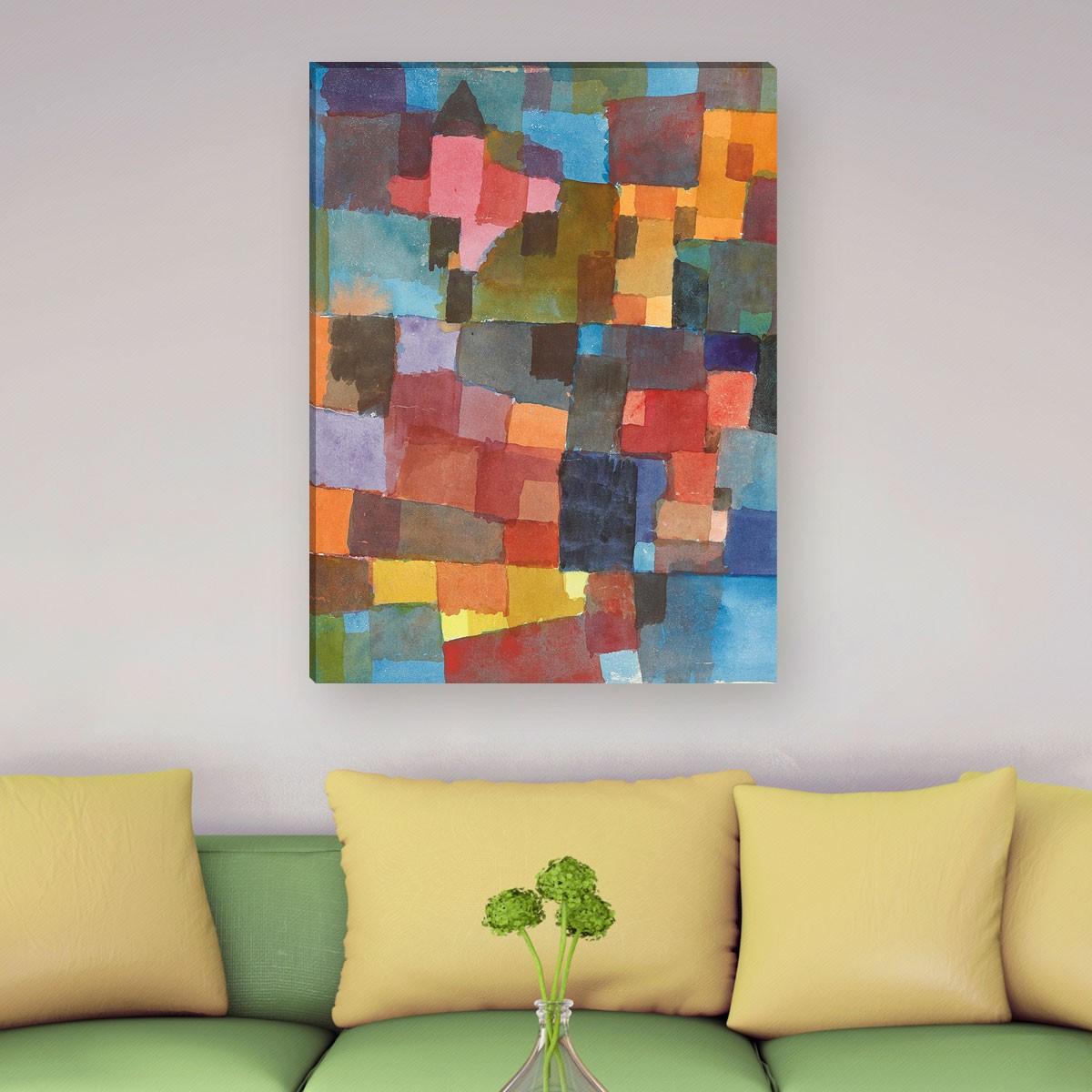 Paul Klee - Raumarchitektur