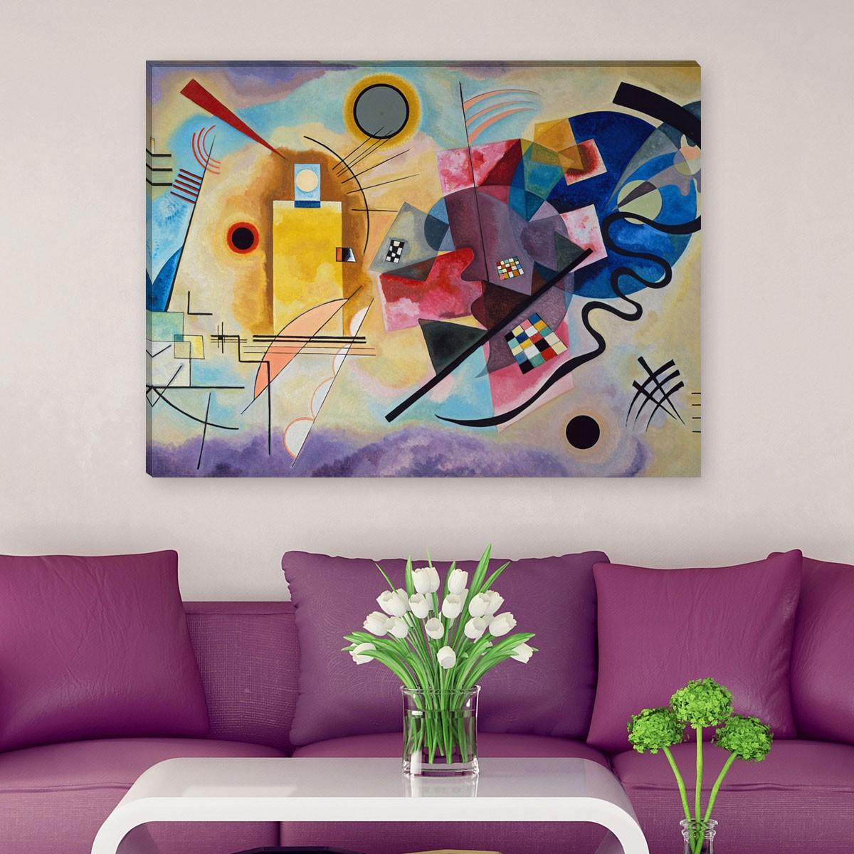 wassily kandinsky gelb rot blau. Black Bedroom Furniture Sets. Home Design Ideas