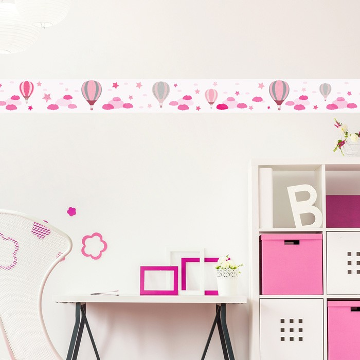 hei luftballons rosa bord re 4 50 m. Black Bedroom Furniture Sets. Home Design Ideas
