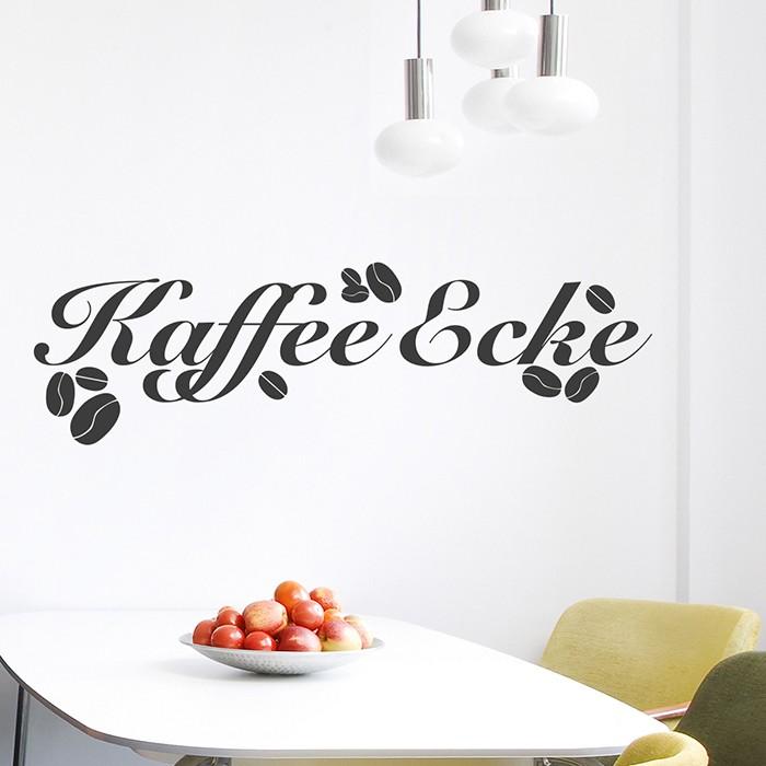 Wandtattoo kaffee ecke - Fliesensticker kaffee ...