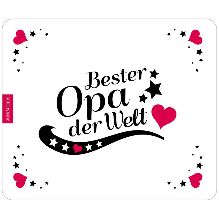 mousepad bester opa motiv 4. Black Bedroom Furniture Sets. Home Design Ideas