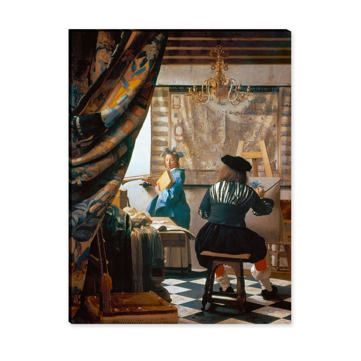 Jan Vermeer - die Malkunst
