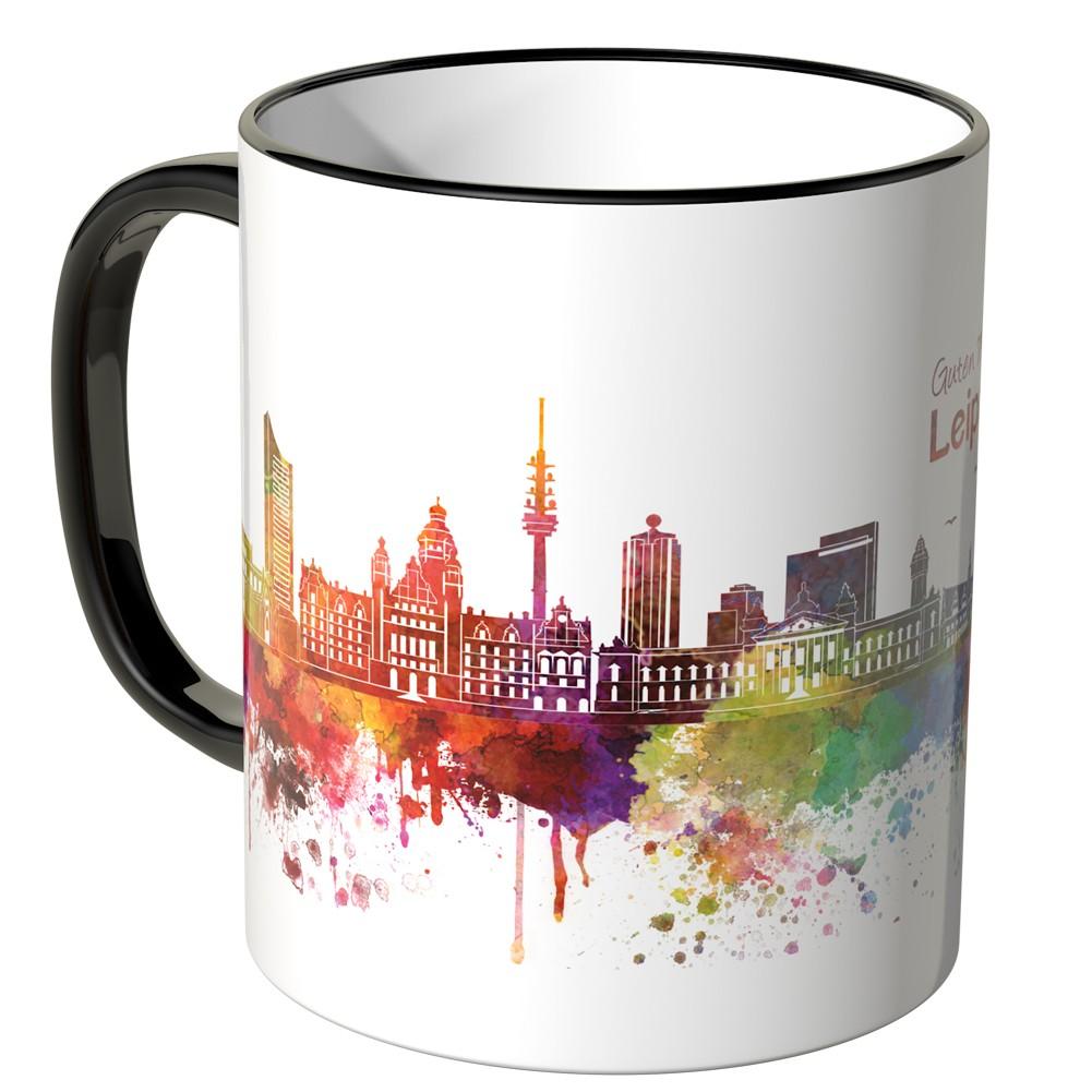 Juniwords Tasse Guten Morgen Leipzig