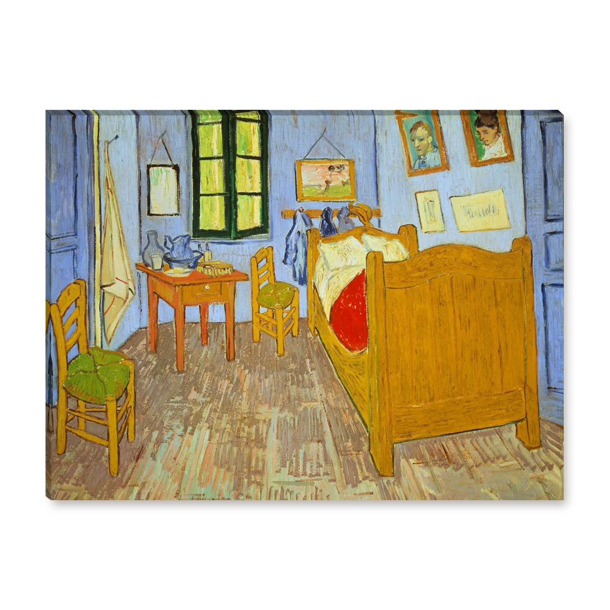 van gogh schlafzimmer in arles. Black Bedroom Furniture Sets. Home Design Ideas