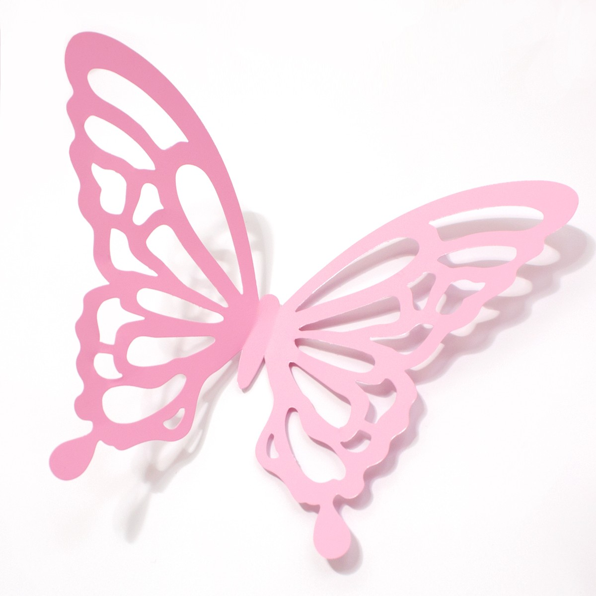 wandtattoo 3d schmetterlinge rosa mit ornamenten muster. Black Bedroom Furniture Sets. Home Design Ideas