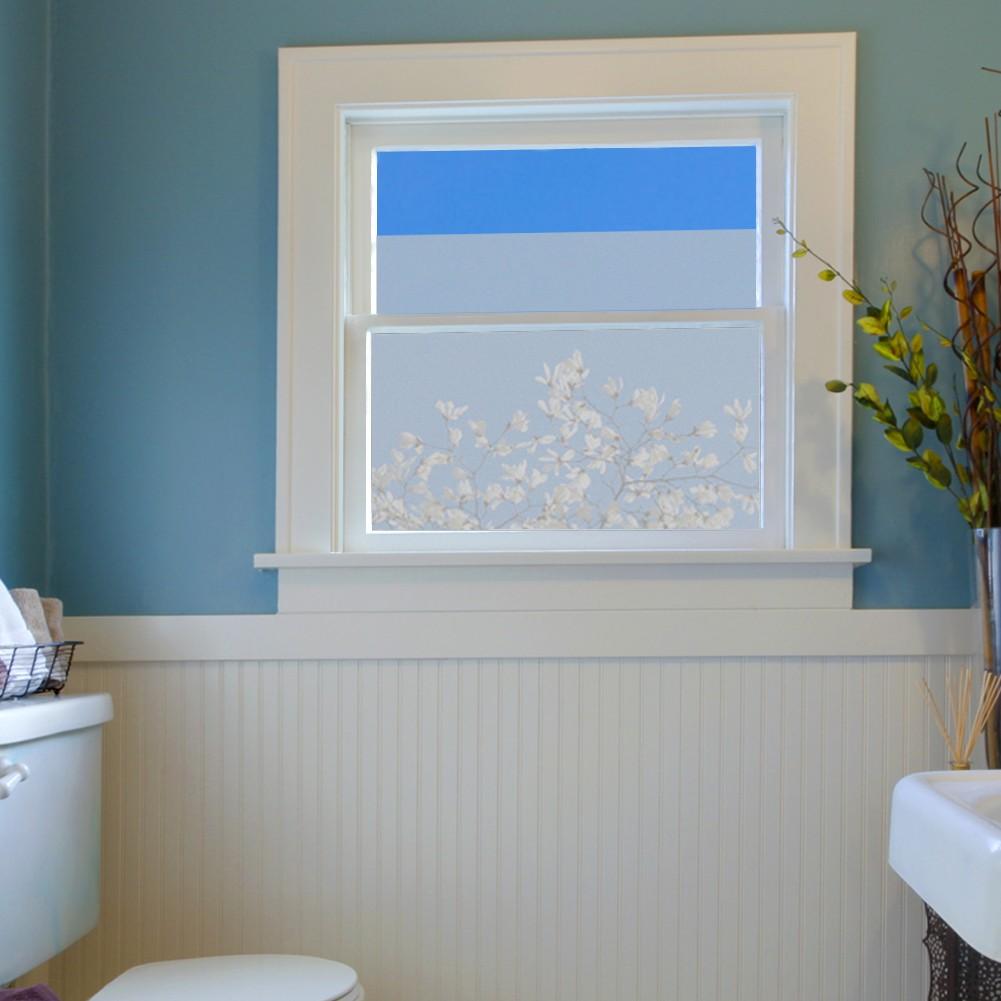 Milchglasfolie für Fenster Glastüren und Duschen 60 cm Breite