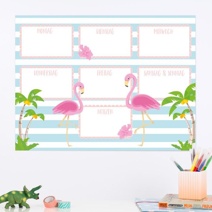 ORIGAMI 3D-Motiv Flamingo | 700x700