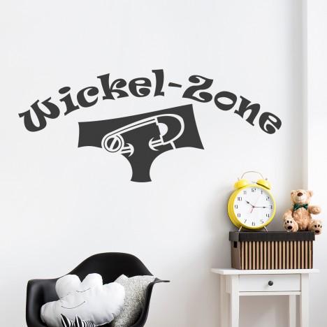 Wickelzone Wandtattoo