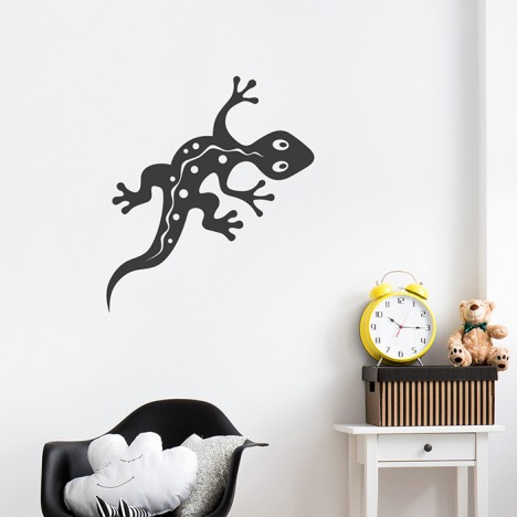 Gecko Wandtattoo