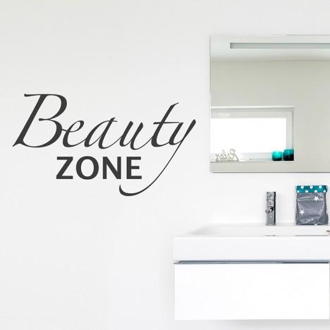 Beauty Zone Wandtattoo