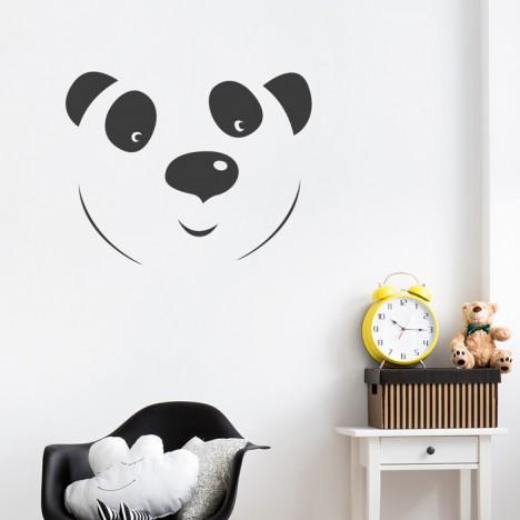 Panda Wandtattoo