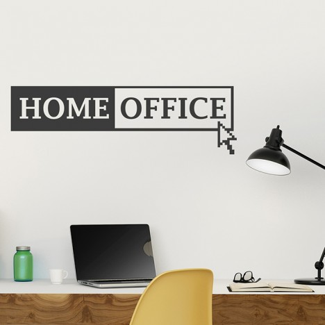 Home Office Wandtattoo