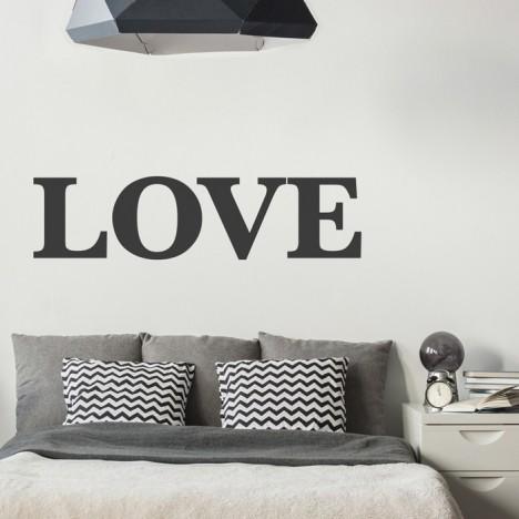 Wandtattoo Spruch - LOVE