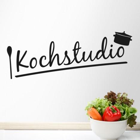 Wandtattoo Spruch - Kochstudio