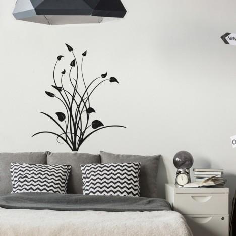 Wandtattoo - Blumenranke Amelie