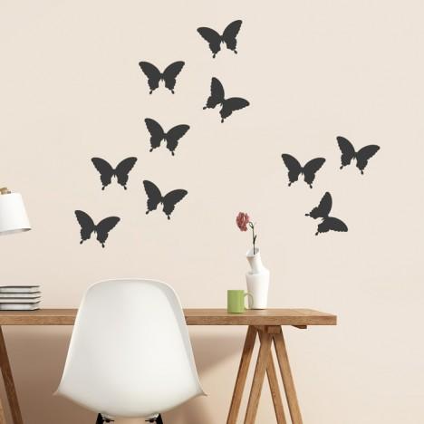 Schmetterlinge Wandtattoo