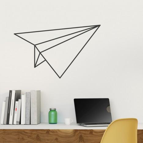 Wandtattoo Origami Papierflieger