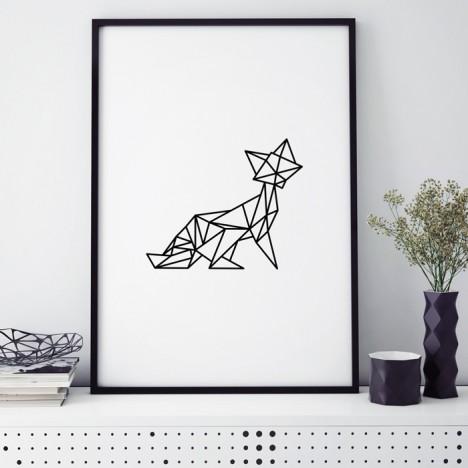 fuchs origami poster